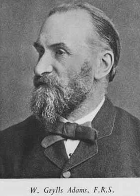William Grylls Adams (1836 - 1915)
